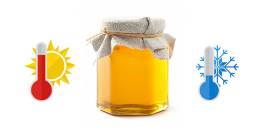 температура хранения меда