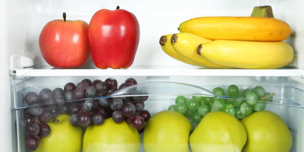 Хранение фруктов в холодильнике
