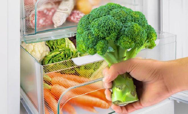 хранить брокколи в холодильнике