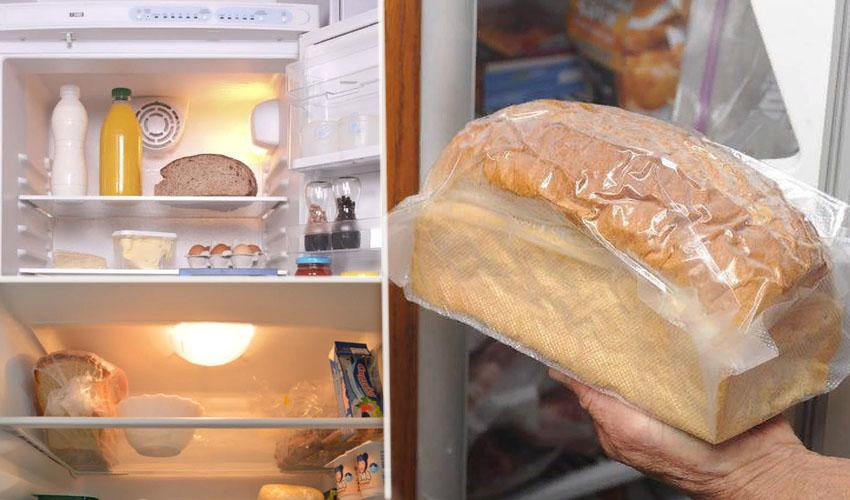 хранить хлеб в холодильнике