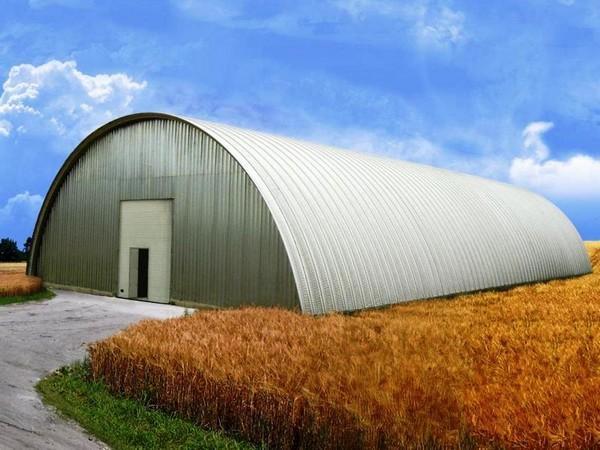 Заготовительные зернохранилища