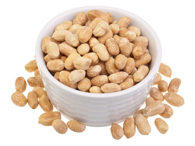 Хранение очищенного арахиса