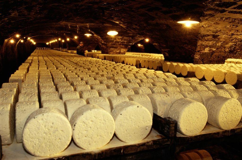 хранение сыра в погребе