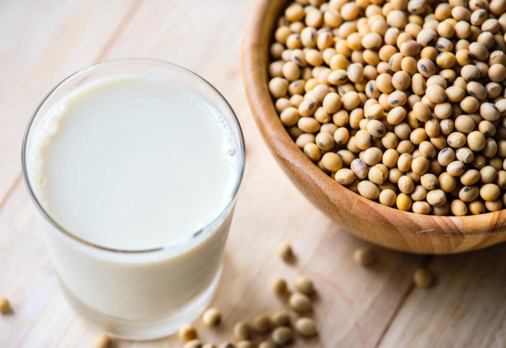 ранение соевого молока
