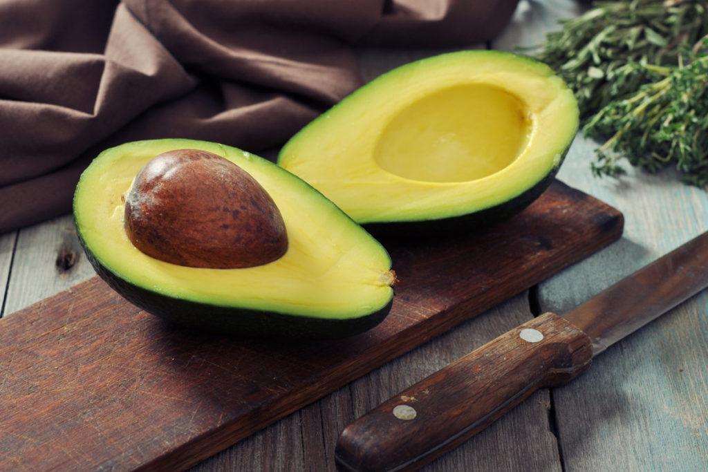 хранение авокадо в морозилке
