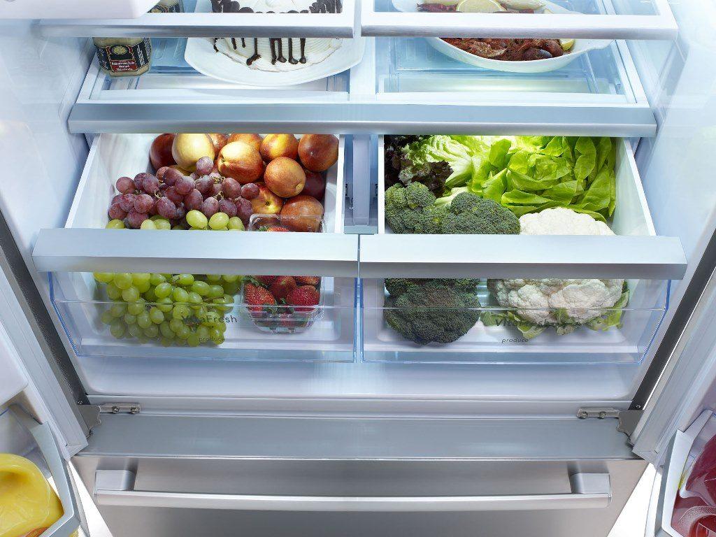 анение овощей в холодильнике