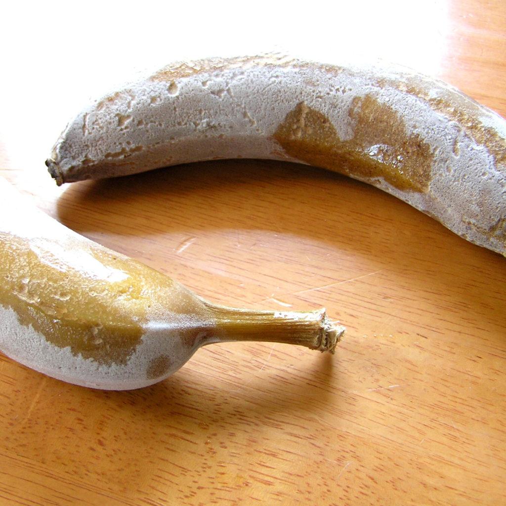 заморозка бананов