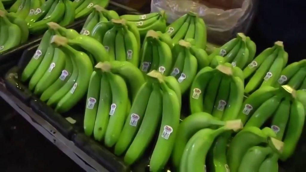 хранение зеленых бананов