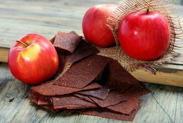хранение яблочной пастилы