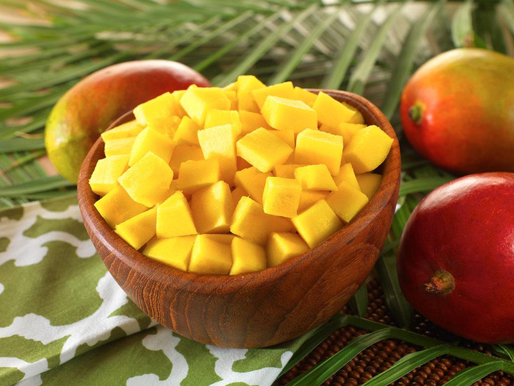 хранение манго в морозилке