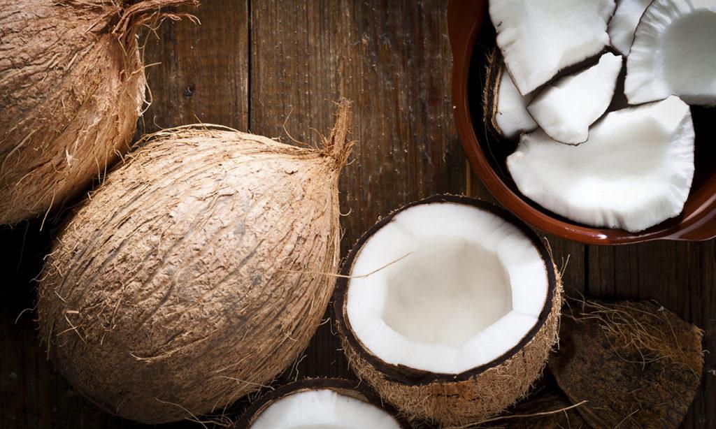 как хранить сушеный кокос