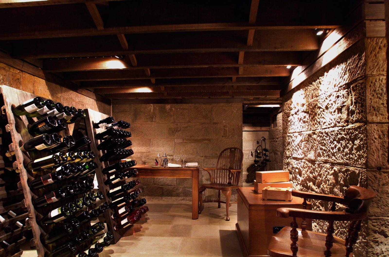 хранение вина дома
