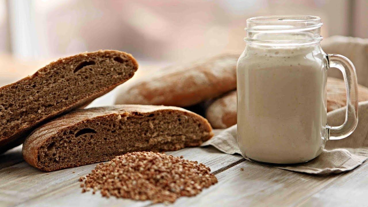 хранение хлебной закваски