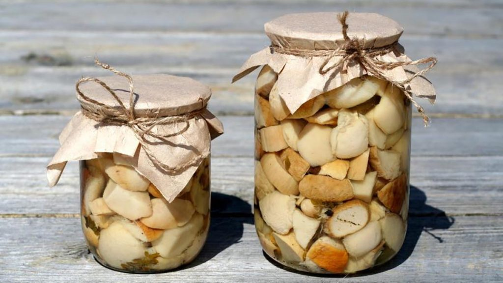 хранение грибов маринованных