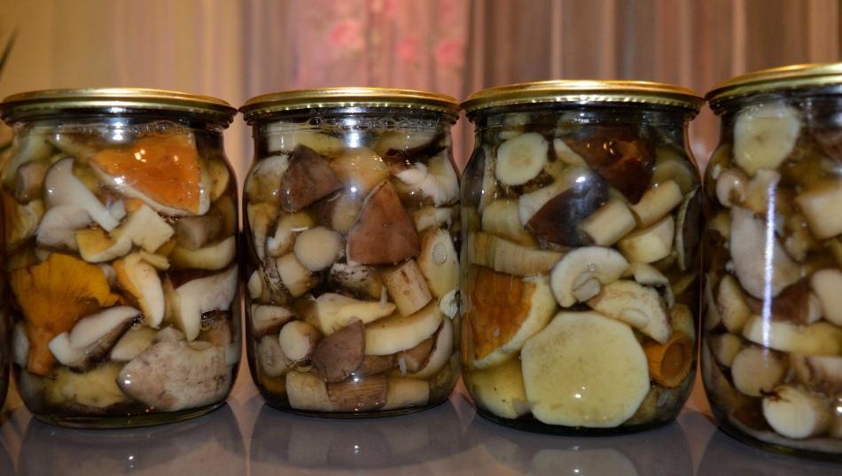 как хранить грибы маринованные