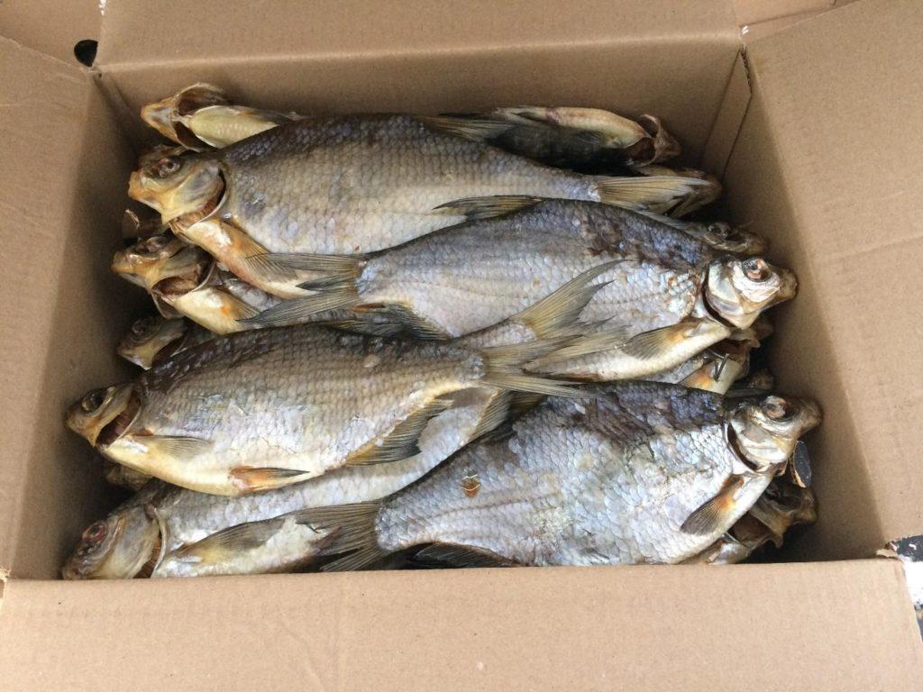 как хранить сушеную рыбу