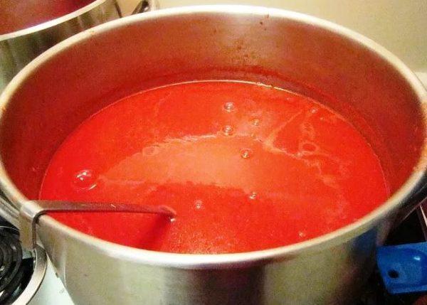 срок хранения томатного сока