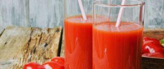 хранение томатного сока