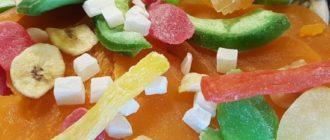 как хранить цукаты