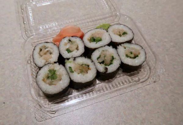 срок хранения суши