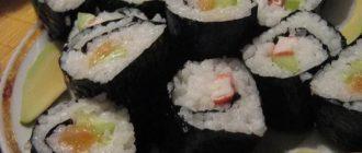 сколько хранить суши