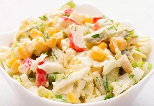 Сколько можно хранить салат из крабовых палочек