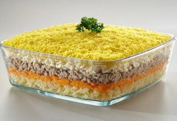 Можно ли на какое-то время сохранить салат мимоза