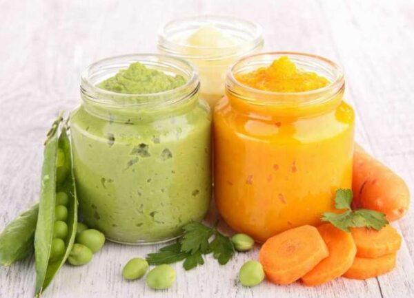 Как хранить овощное, фруктовое и мясное пюре